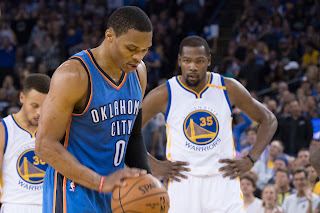Russell Westbrook scored a victory over his former teammate.