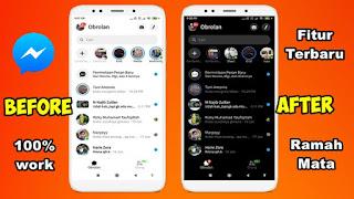 Cara Mengaktifkan Mode Gelap di Facebook Messenger Terbaru 2020