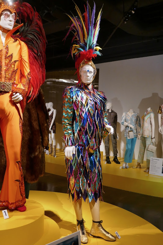 Elton John Rocketman Royal Albert Hall Cockerel costume