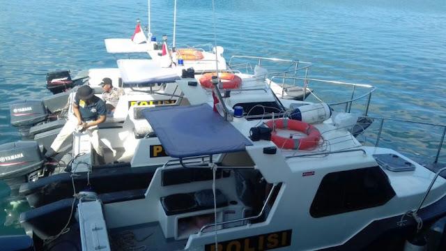 Bupati, Resmikan Pemanfaatan 3 Speedboat Patroli Polres Kep. Selayar