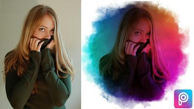 smoke color Effect | picsart Tutorial - Design picsart
