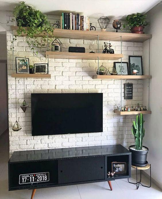 Tv Wall Design Ideas For Cozy Living Room