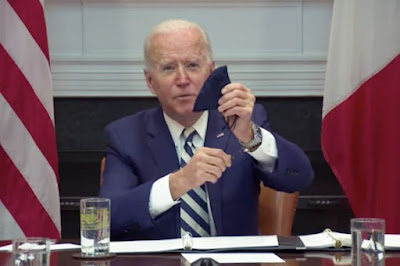 Biden with rosary