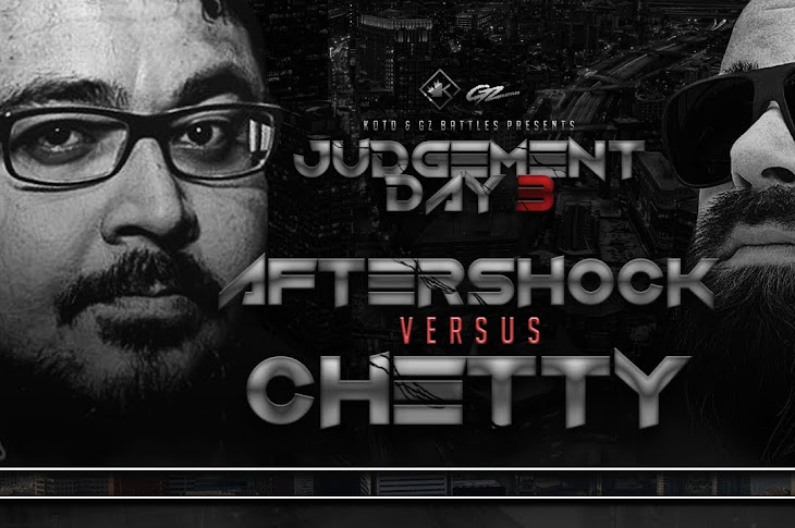 King Of The Dot Presents: Aftershock vs Chetty