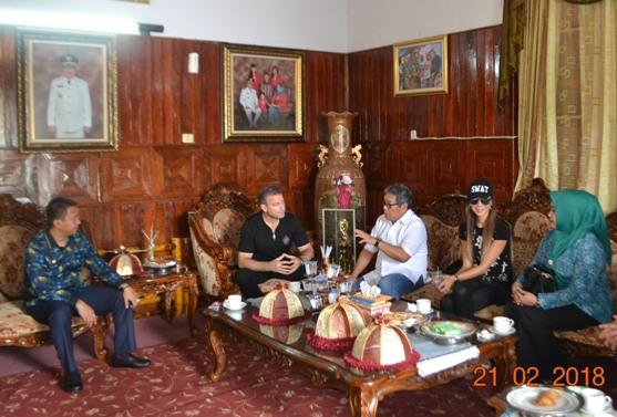 Mantan Dubes Indonesia, Untuk Bulgaria Sambangi Selayar