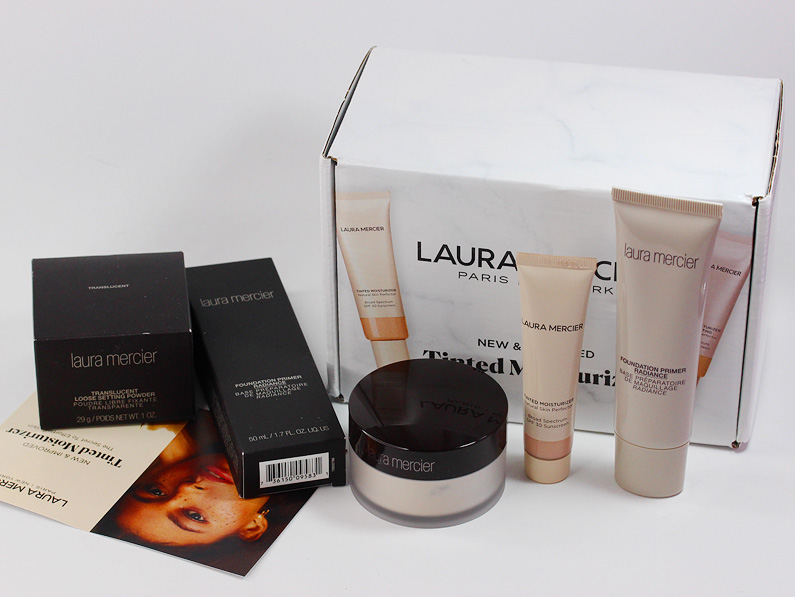 Laura Mercier Tinted Moisturizer Foundation Primer Translucent Loose Setting Powder