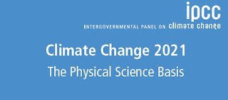 International Panel on Climate Change - report released