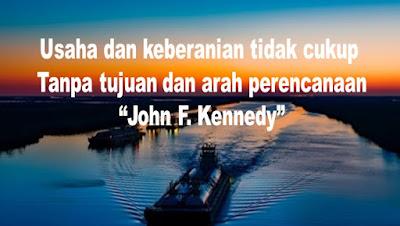 Kumpulan kata bijak motivasi kehidupan - John F Kennedy