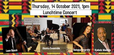 the African Concert Series, artistic director Rebeca Omordia