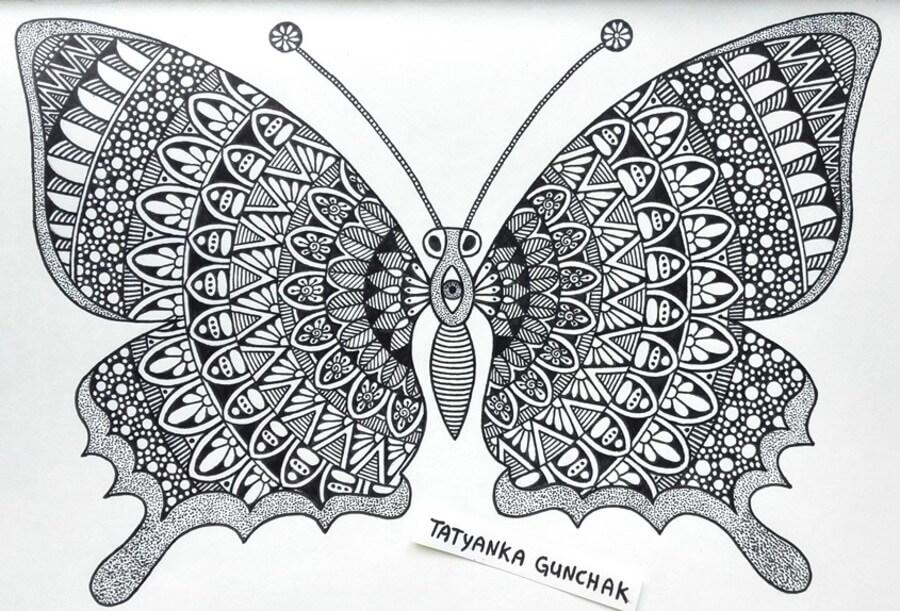 Butterfly by T. Gunchak