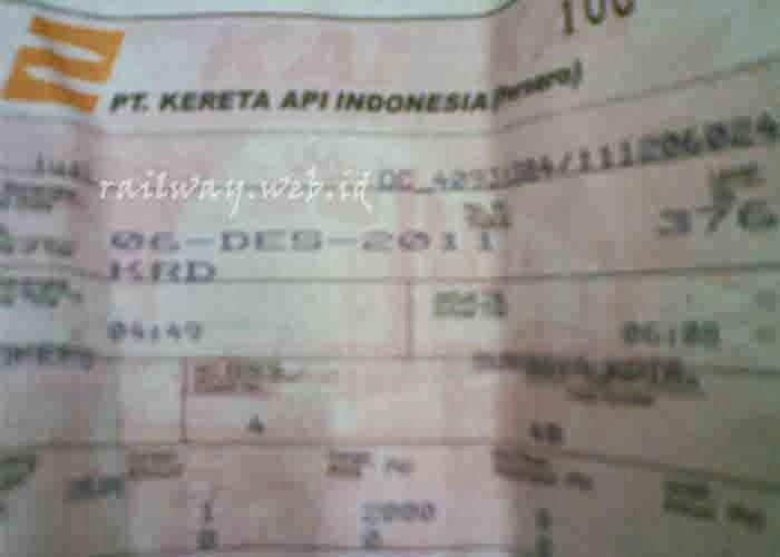 Harga Tiket Kereta Api Ekonomi Turun per 1 April 2014