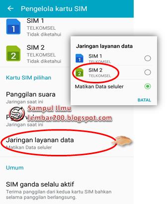Cara Mudah Setting SIM CARD Khusus Internet Di Android