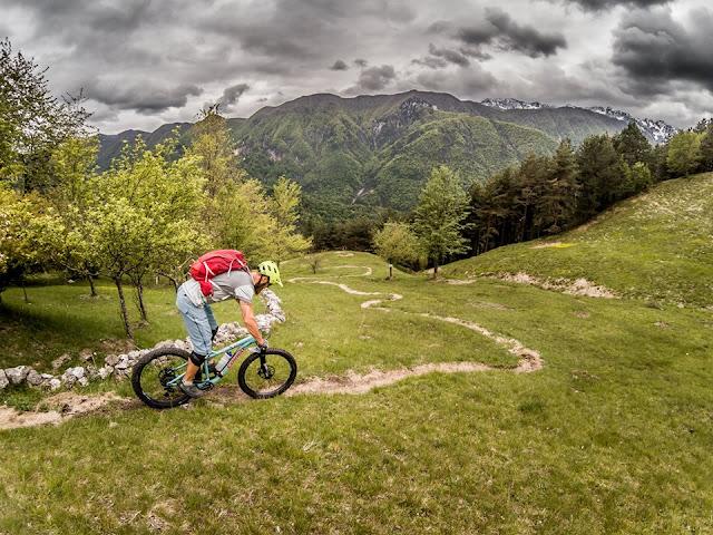 Mountainbike Tour MTB Tour Picco  Peloso / Pusti Gost im Val Resia / Resiatal