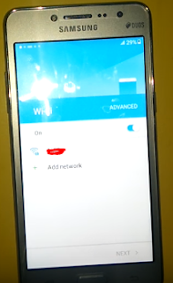 koneksi wifi samsung j2