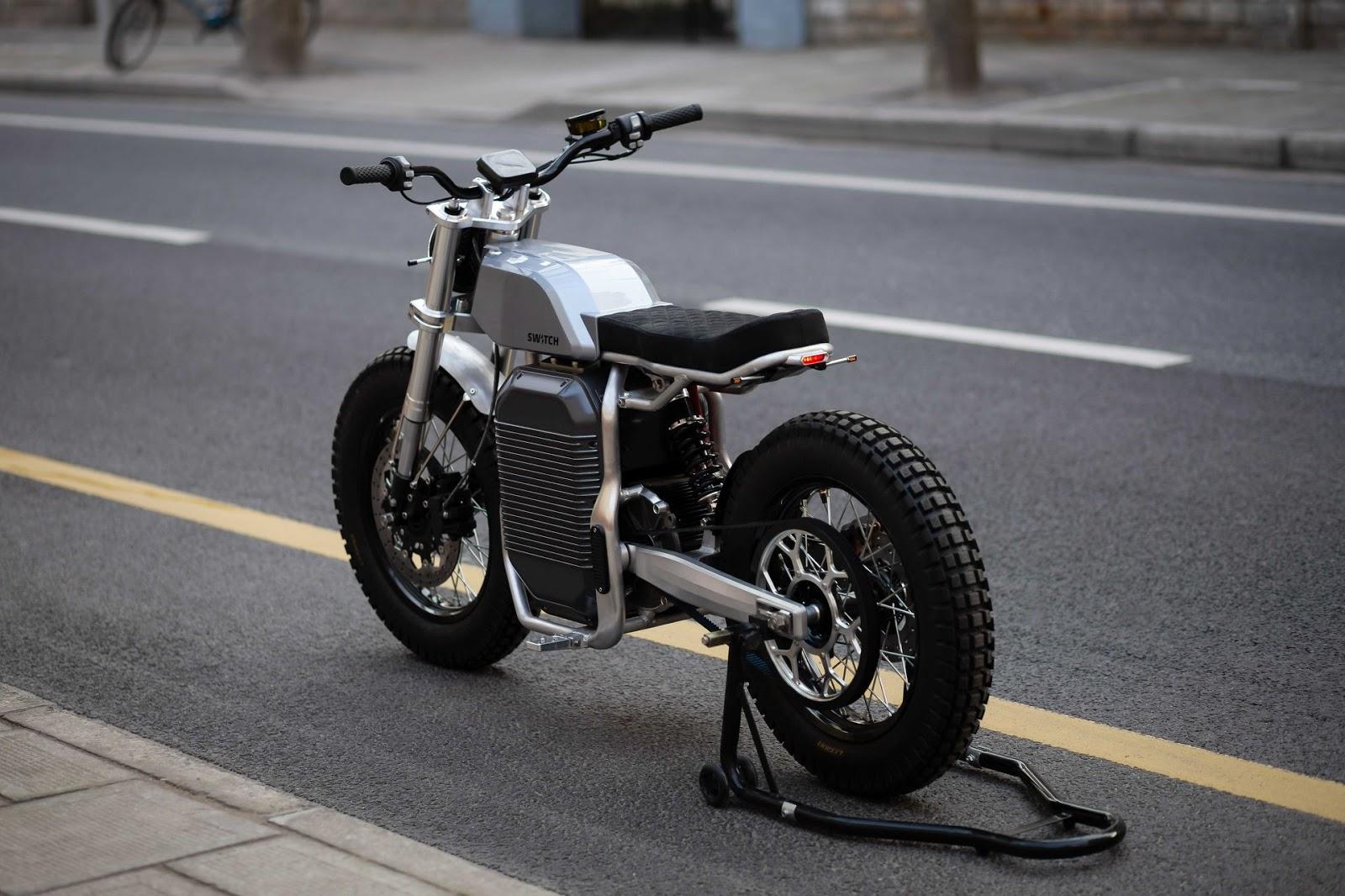Switch Motorcycles | Sexy eSCRAMBLER™ rollen auf uns zu
