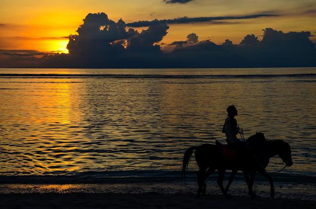 Gili Trawangan - zachód słońca