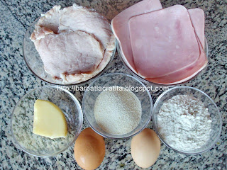 Cordon bleu ingrediente reteta