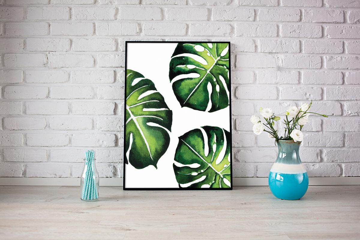 Botaniczne Plakaty Piękny Plan Blog O Planowaniu