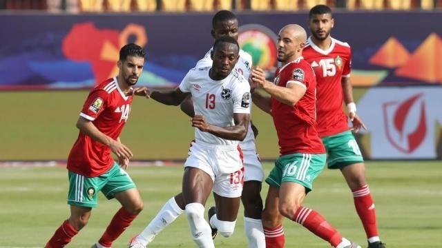 المغرب يفوز على جنوب افريقيا بهدف دون رد اليوم الاثنين بتاريخ 01-07-2019 كأس الأمم الأفريقية