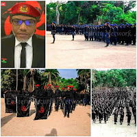The leader of IPOB Oyendu Mazi Nnamdi Kanu reveals when to face the enemies