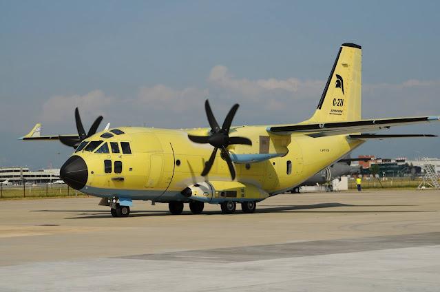 Leonardo remodela aeronave C27-J para alcançar novos níveis de performance | É MAIS QUE VOAR