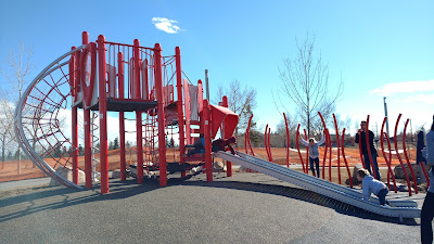 East Village Playground, Calgary