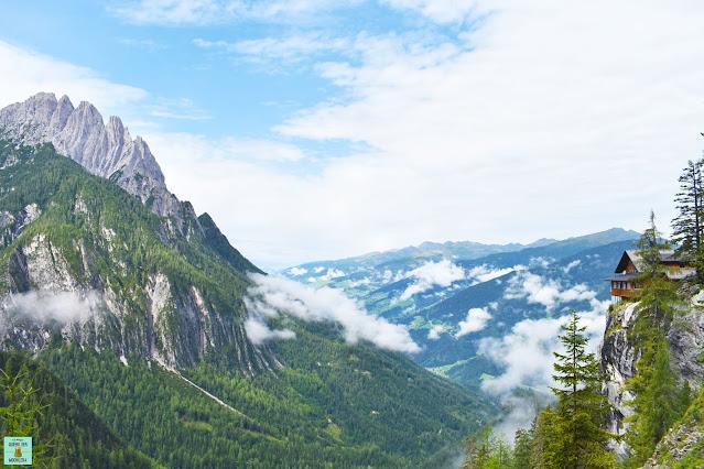 Dolomitenhütte en Osttirol, Austria