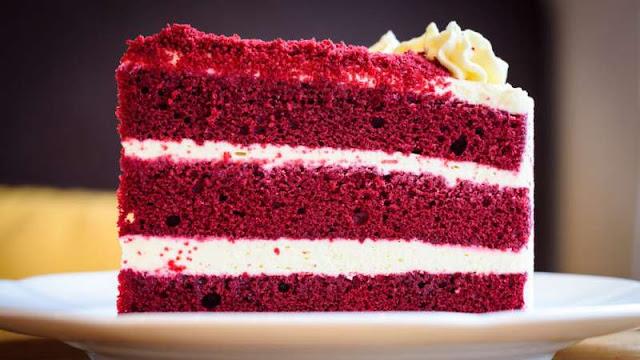 Receita de bolo red velvet