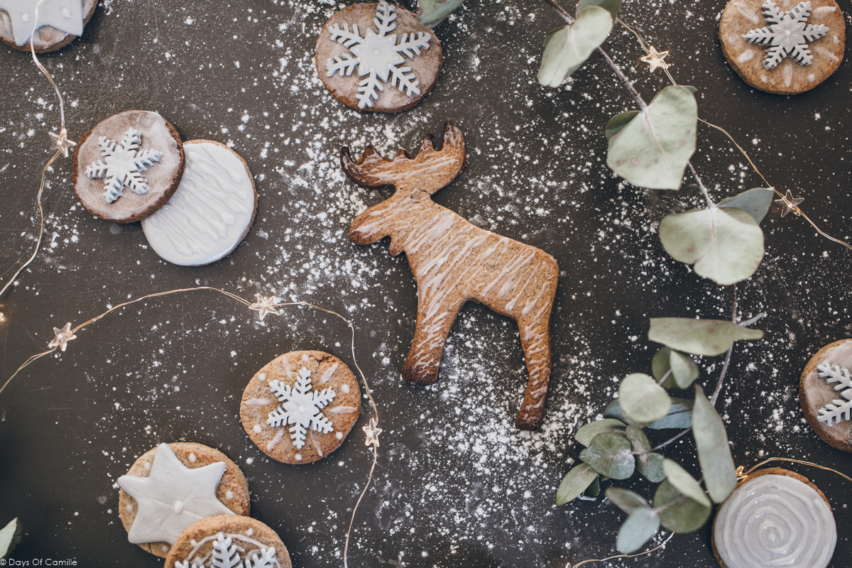 Sablés de Noël argentés à la cannelle | Holidays #1