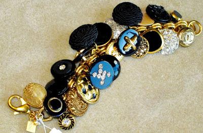 button bracelet tutorial diy charm jewellery jewelry
