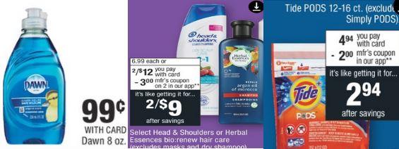 Herbal Essences bio renew $0.96 at CVS 10/13-10/19