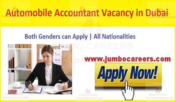 UAE New Jobs vacancies,
