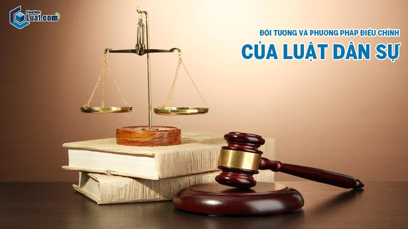 Phân tích đối tượng và phương pháp điều chỉnh của Luật dân sự