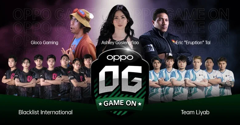 OPPO Strengthens Position in Philippine Esports with Blacklist International
