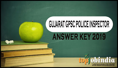 Gujarat GPSC Police Inspector (PI) Paper Solution & Answer Key 2019