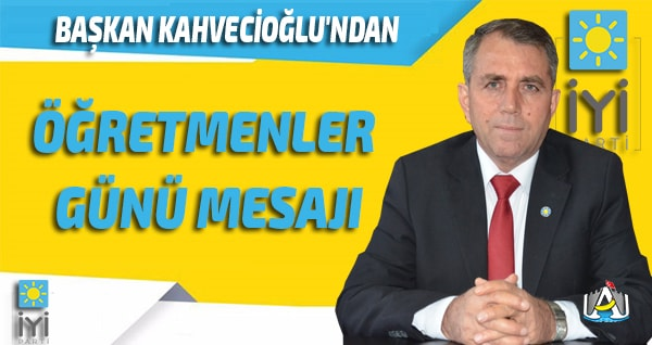 Anamur Haber,Anamur Son Dakika,İYİ Parti Anamur,Osman Kahvecioğlu,