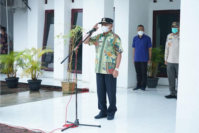 Bupati Asahan Minta Satpol PP Dalam Menertibkan Masyarakat Yang Melanggar Perda Dengan Cara Humanis