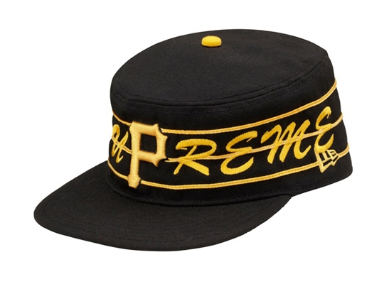 How is a Supreme  Pittsburgh Pirates hat inspired by new school rapper Wiz  Khalifa  Just ask Rostrum Records label owner Benjy Grinberg 2d9bc2453cc