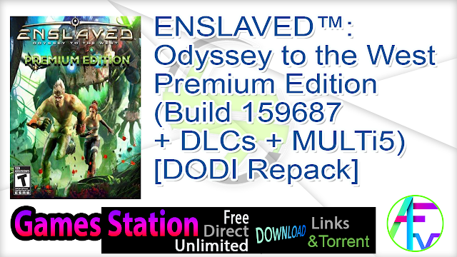 ENSLAVED™ Odyssey to the West™ Premium Edition (Build 159687 + DLCs + MULTi5) – [DODI Repack]