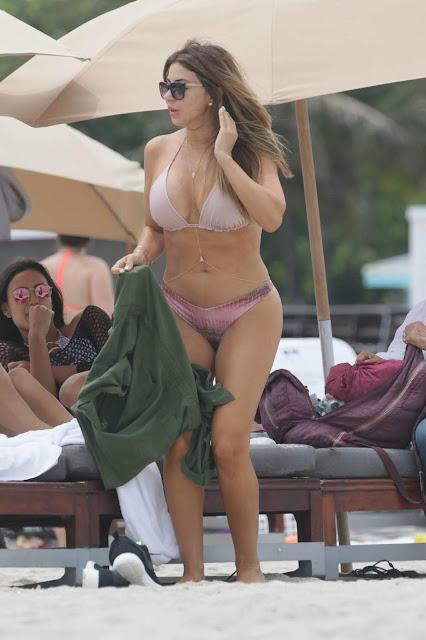 Larsa Pippen boobs