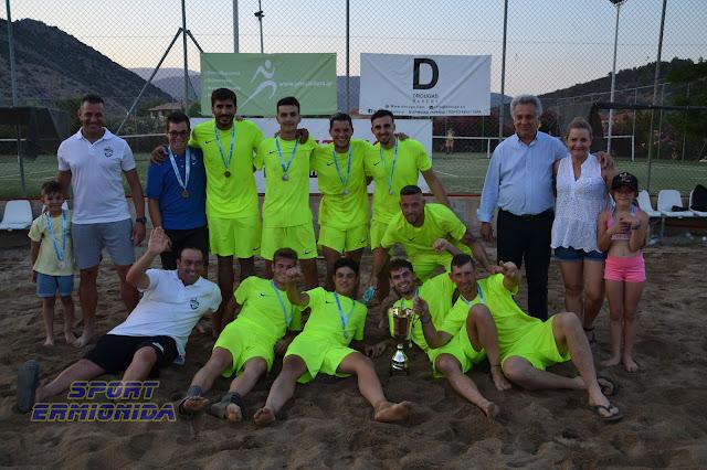 Εντυπωσιακό το τριήμερο τουρνουά Beach Soccer στην Ερμιόνη