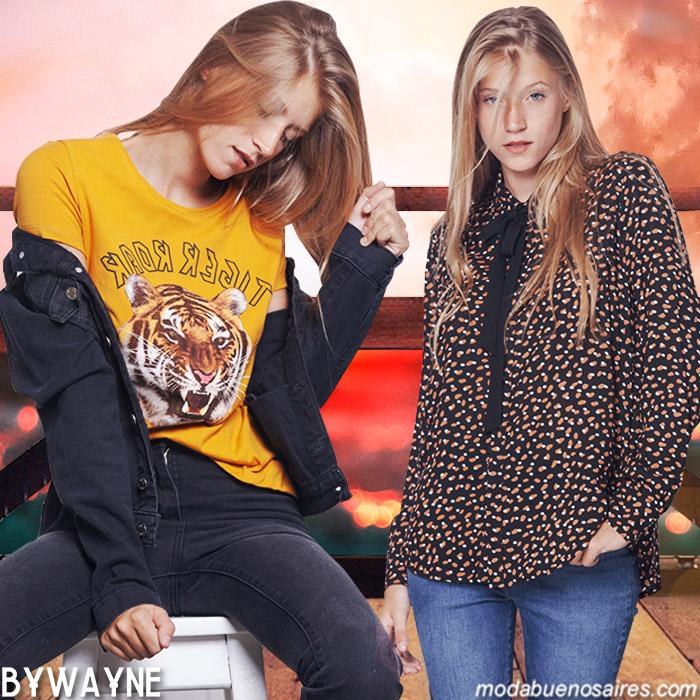 Camisa de mujer moda otoño invierno 2019.