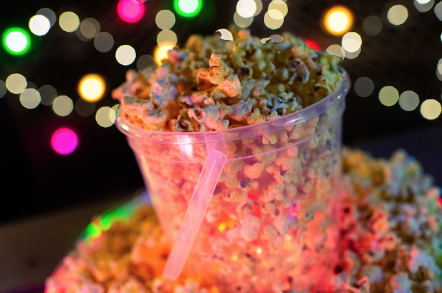Disney World H20 Glow Nights popcorn bucket