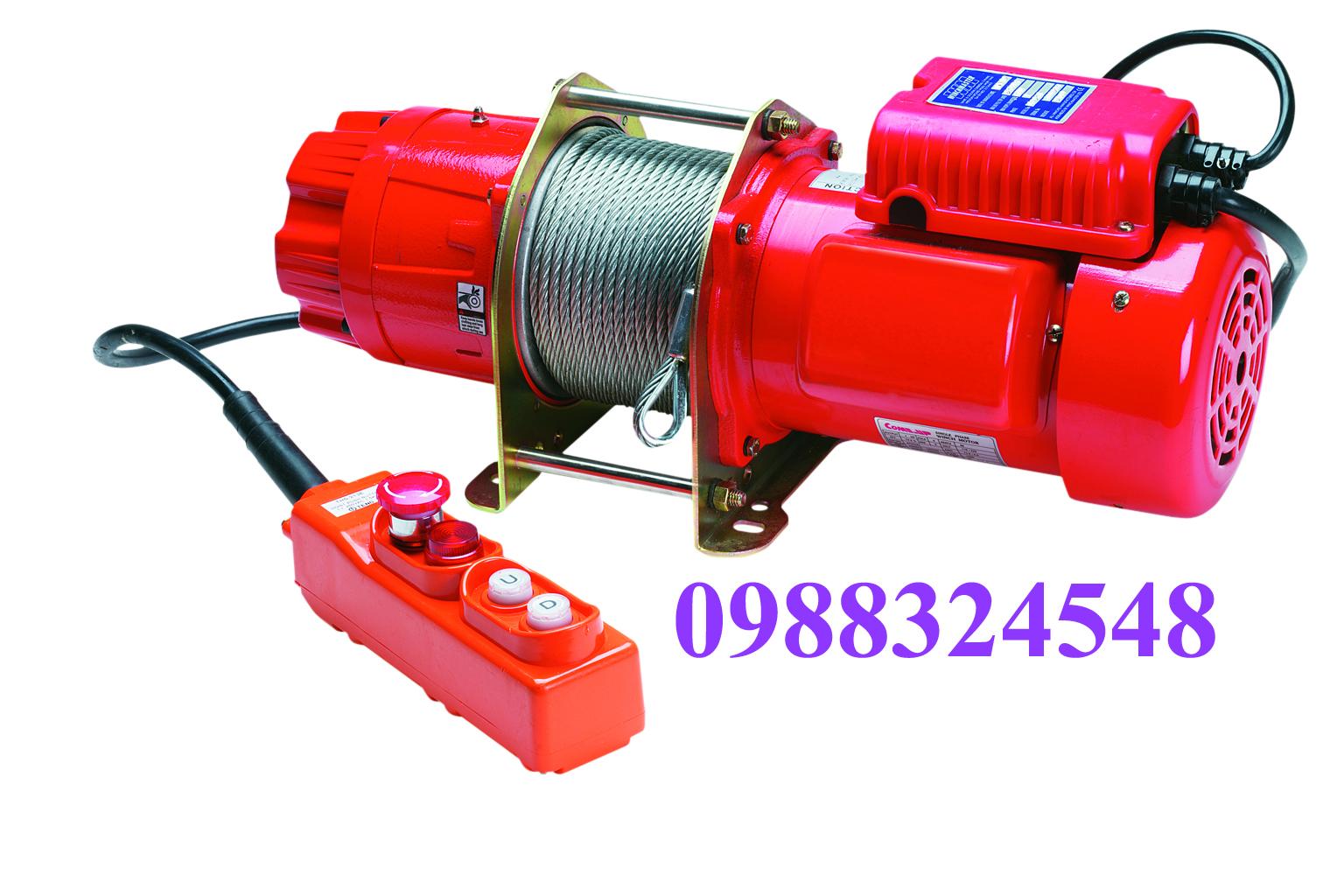 Tời cáp điện Comeup CP-500 500kg