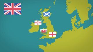 Negara di United Kingdom Inggris, Skotlandia, Wales, dan Irlandia Utara
