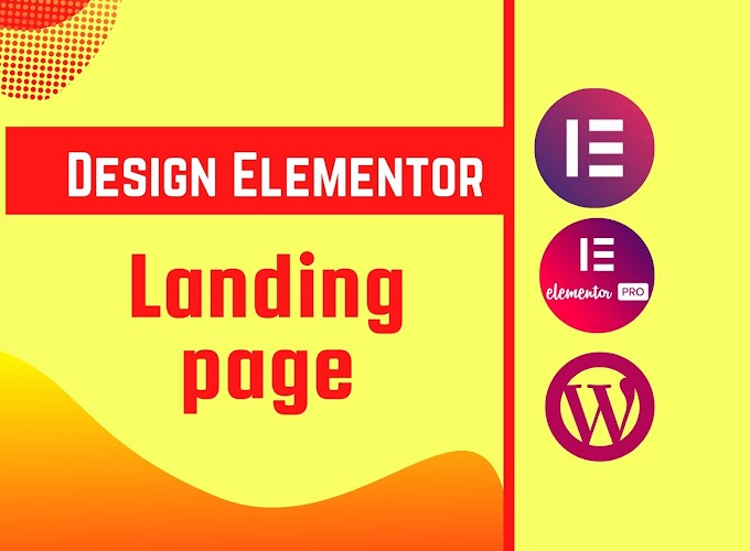 I will design a squeeze page or landing page using wordpress and elementor pro