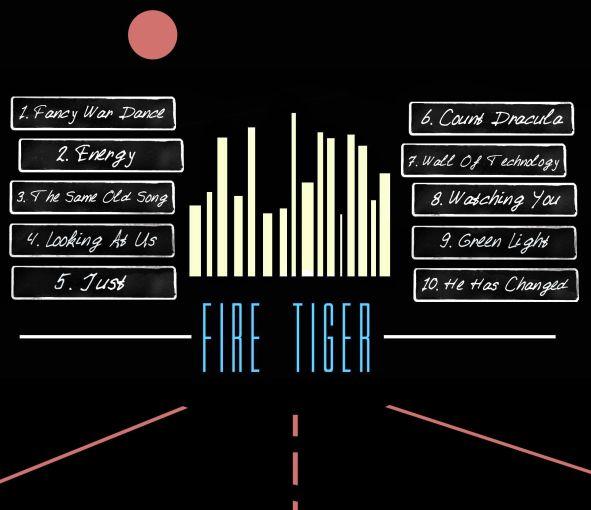 FIRE TIGER - Energy [ecopack CD version] back