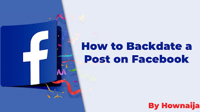 How to Backdate a Post on Facebook