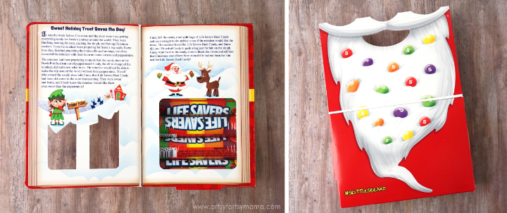 Pair a handmade Mini Christmas Stocking with holiday storybooks for a SWEET gift this Christmas!