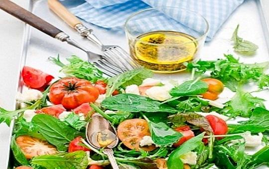 Vinagreta para Ensalada de lechuga y tomate